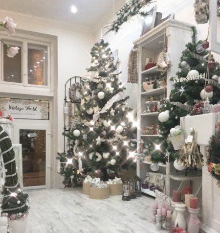 vintage world karácsony