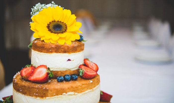 cake, sunflower, flowers, ehető, virág, torta, esküvő, wedding, cake,