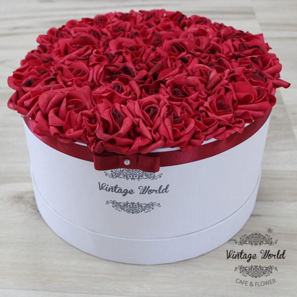 vintage rózsadoboz
