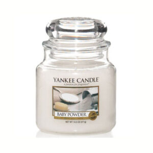 yankee candle baby powder közepes