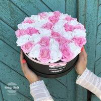 virágdoboz, virágbox, rózsabox