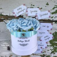 rózsabox, virágbox, virágcsokor