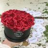 virágcsokor, virágbox , rózsabox