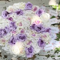 virágdoboz, rózsabox, virágbox, virágcsokor