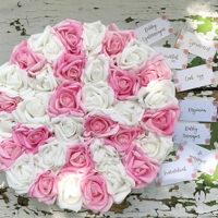 Virágbox, rózsabox, virágcsokor