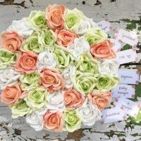 virágbox, rózsabox, virágdoboz, virágcsokor