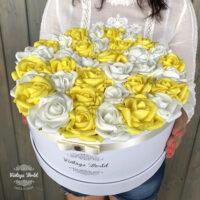 virágcsokor, virágdoboz, rózsabox, virágbox