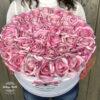 virágcsokor, virágdoboz, dobozos rózsa, RÓZSABOX