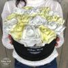 virágcsokor, virágdoboz, virágbox, rózsabox