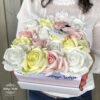 Virágdoboz, dobozos rózsa, virágbox