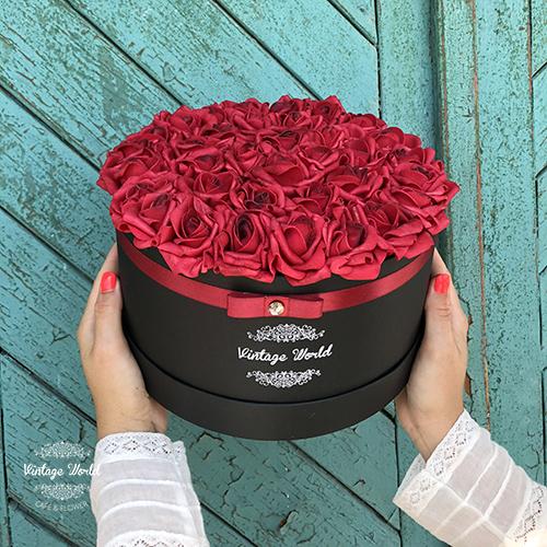 virágdoboz, virágbox, rózsabox, rózsadoboz
