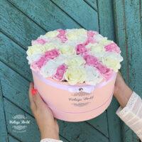 Virágdoboz, dobozos rózsa