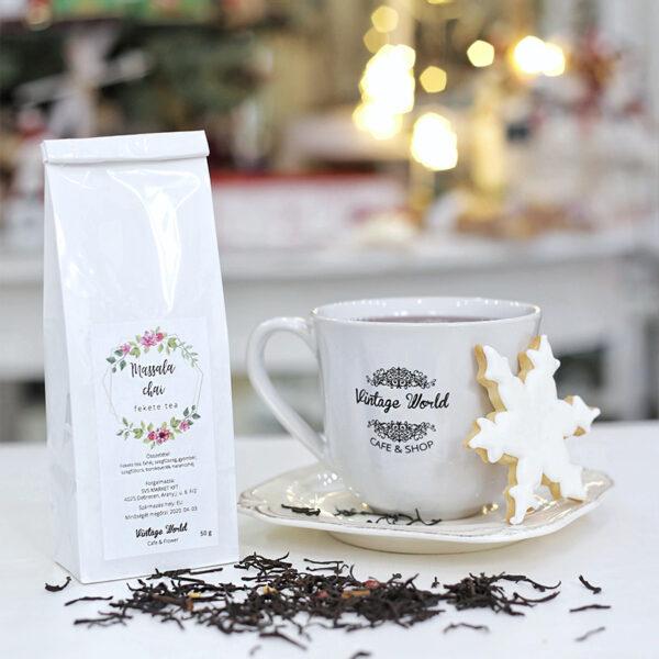 tea, fekete tea, massal chai