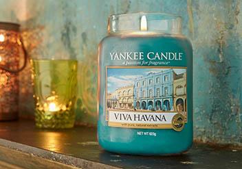 Yankee Candle illatgyertyák
