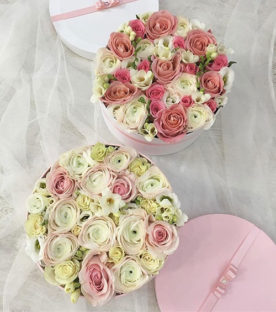 Élő virágdoboz, Virágcsokor