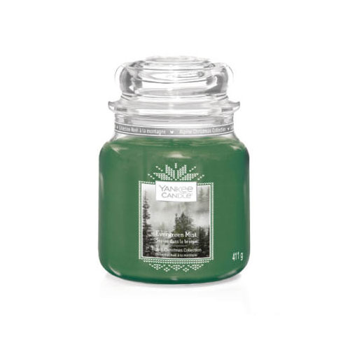 yankee candle evergreen mist kozepes