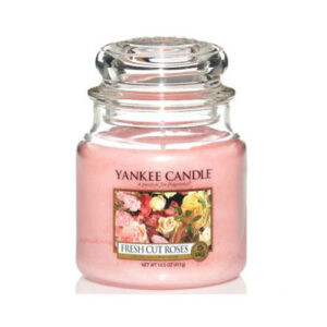 yankee candle fresh cut roses kozepes
