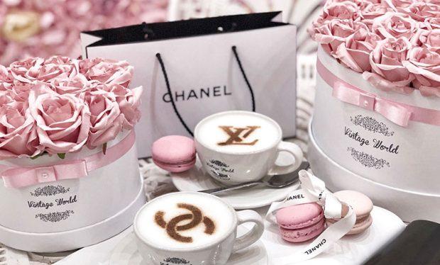 virágos kávézó