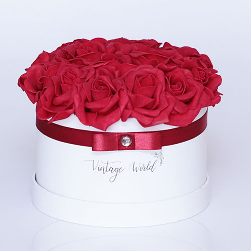 virágdoboz paris rózsadoboz virágküldés