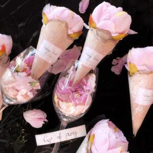 peony peonies bazsarózsa virág ajándék Vintage World