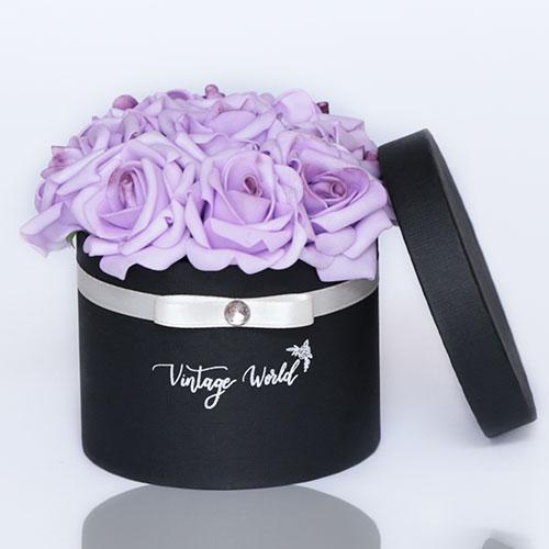 virágküldés habrózsa berlin rózsadoboz