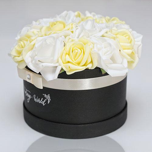 virágküldés habrózsa budapest rózsadoboz