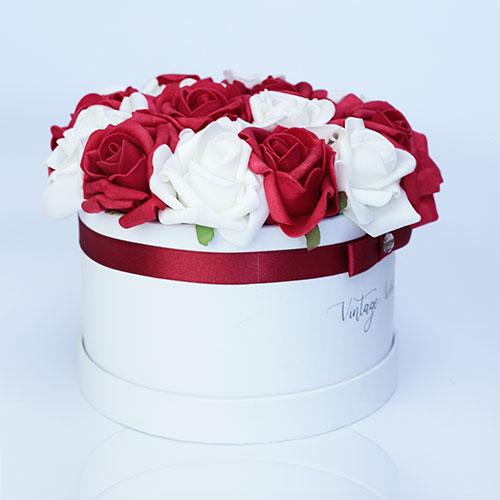 virágküldés habrózsa debrecen rózsadoboz