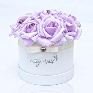 virágküldés habrózsa frankfurt rózsadoboz