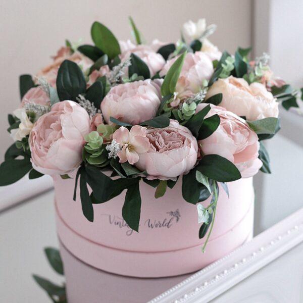 Esküvői virágdoboz
