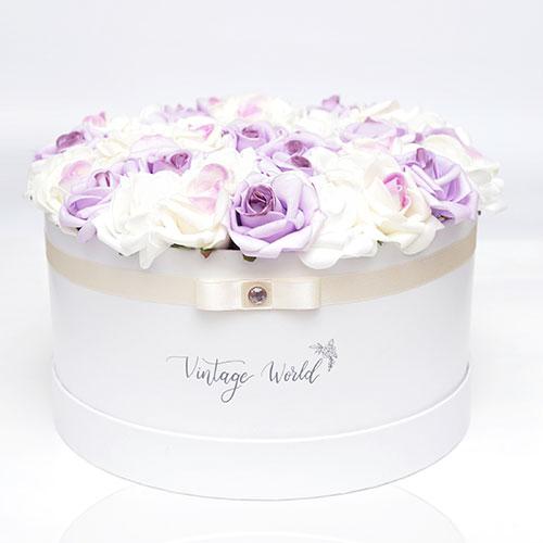 virágküldés habrózsa munich rózsadoboz