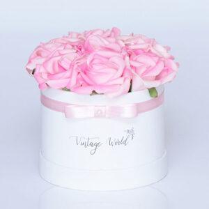 virágküldés habrózsa new york rózsadoboz