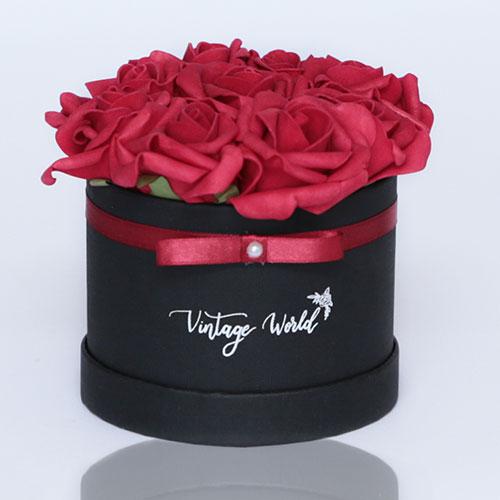 virágküldés habrózsa petersburg rózsadoboz