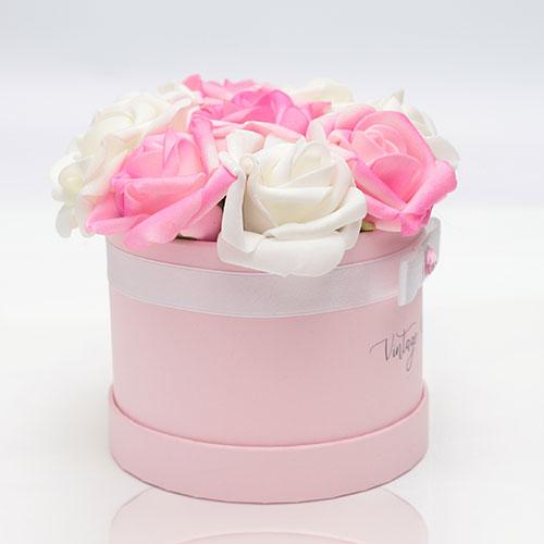 virágküldés habrózsa zagreb rózsadoboz