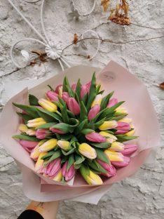 Élő virágcsokor