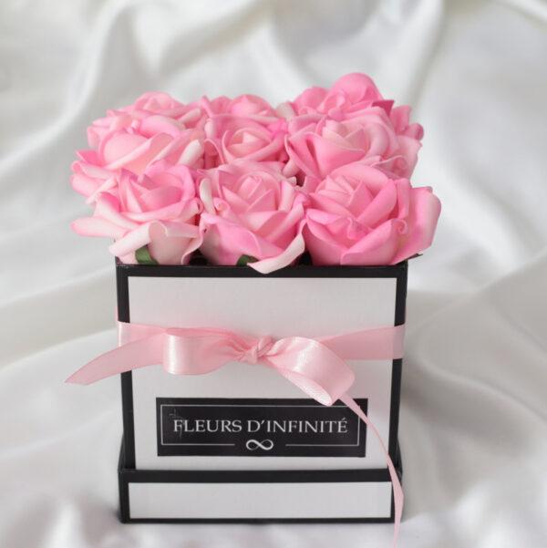 Fontos Vagy Rózsaszín mini rózsadoboz