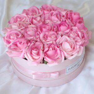Rózsaszín Álom extra rózsadoboz